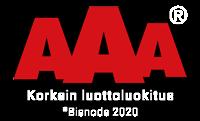 AAA korkein luottoluokitus Timanttiporaus Teho Oy